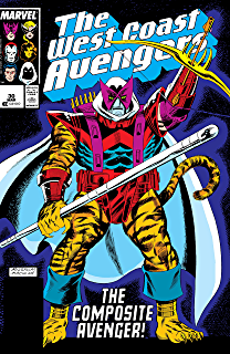 Amazon.com: Avengers West Coast (1985-1994) #29 eBook: Steve ...