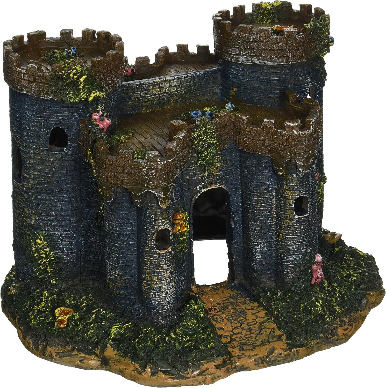 Penn-Plax Castillo Medieval de Francia Acuario Decorativo: Amazon.es: Productos para mascotas