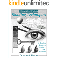 Drawing Dimension - Shading Techniques: A Shading Guide for Teachers and Students (How to Draw Cool Stuff) book cover