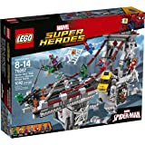 LEGO Super Heroes 76057 Spider-Man: Web Warriors Ultimate Bridge Building Kit (1092 Piece)