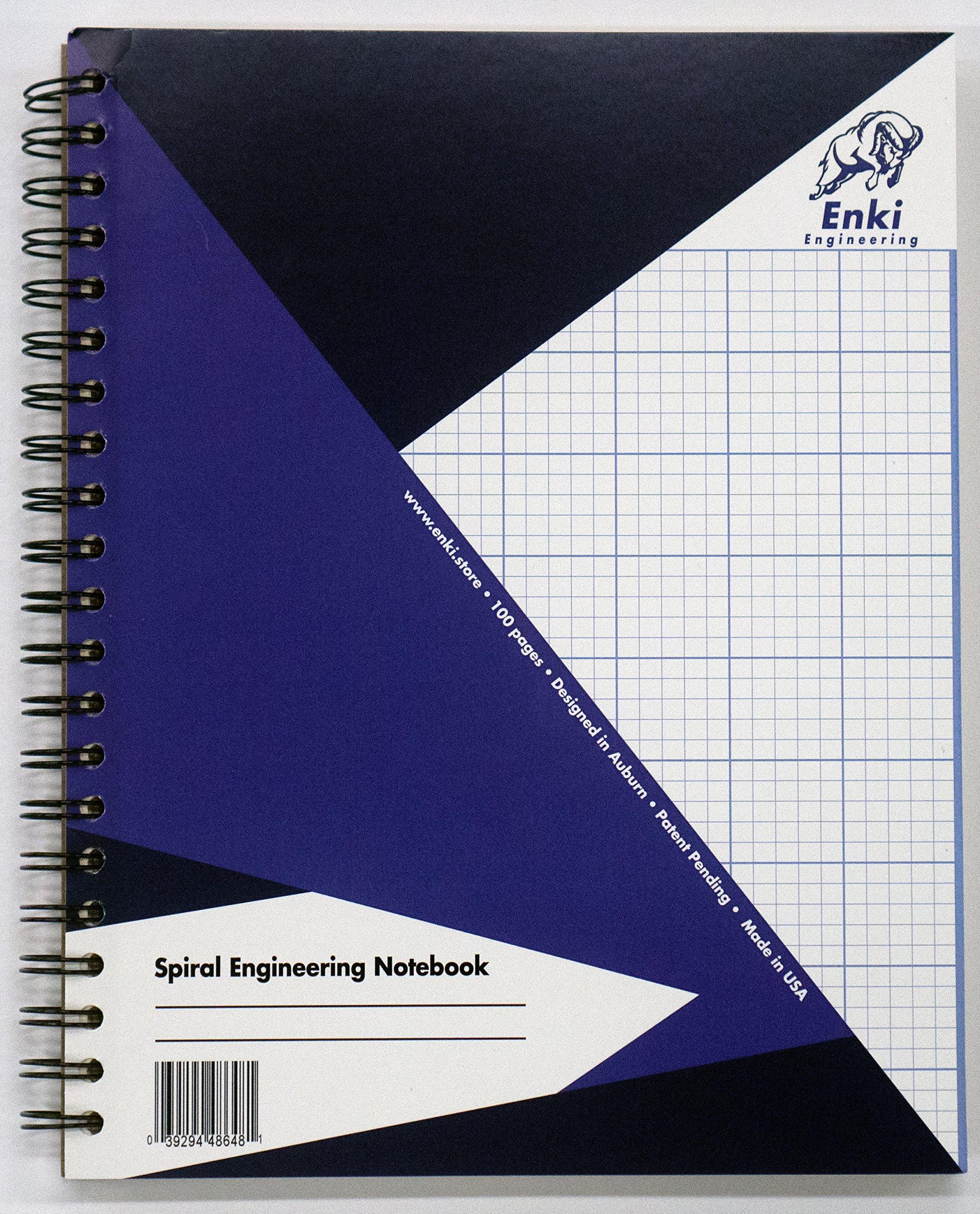 Engineering Paper 200 pg - Spiral Notebook