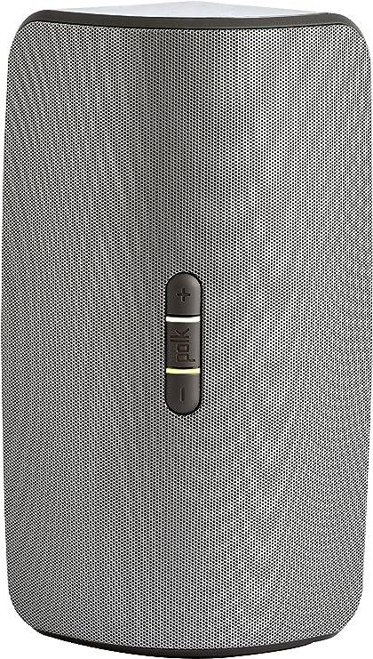 Polk Audio Omni S2 Rechargeable Wireless Lautsprecher Dts Play Fi Multiroom Technologie Grau Audio Hifi