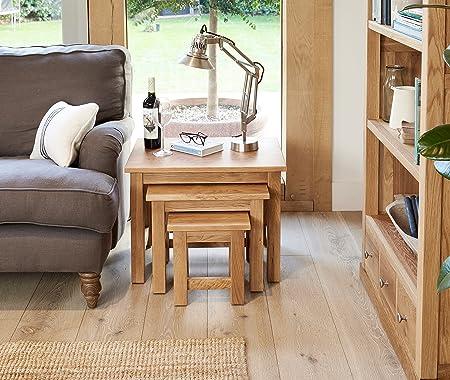 image baumhaus mobel. Baumhaus Mobel Oak Nest Of 3 Coffee Tables Image
