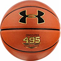 Under Armour UA 495 Basketbol Topu Basketbol Topu Unisex, Dark Orange Black, 7