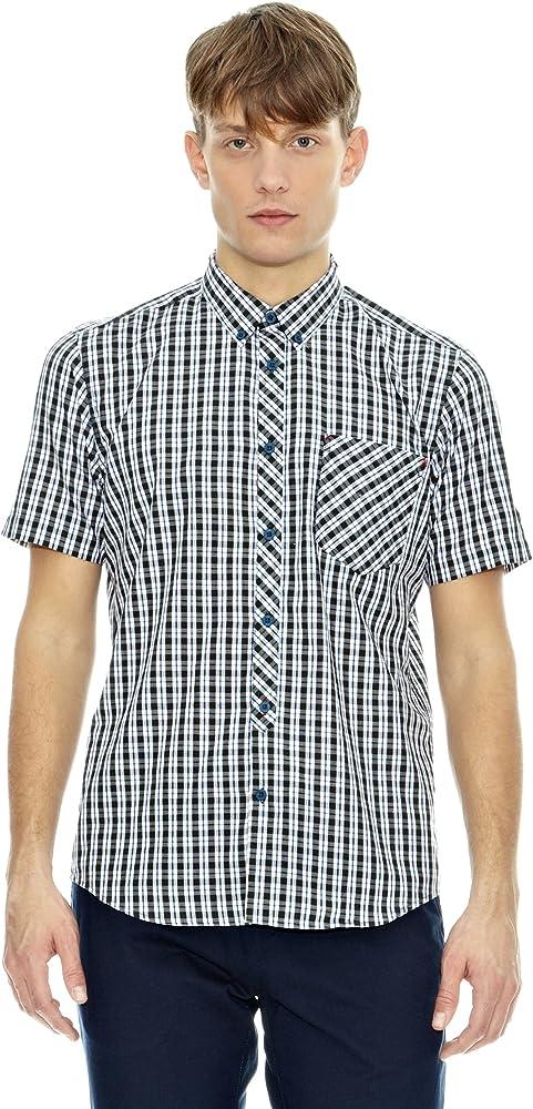 Merc Camisa Christopher Verde XS: Amazon.es: Ropa y accesorios