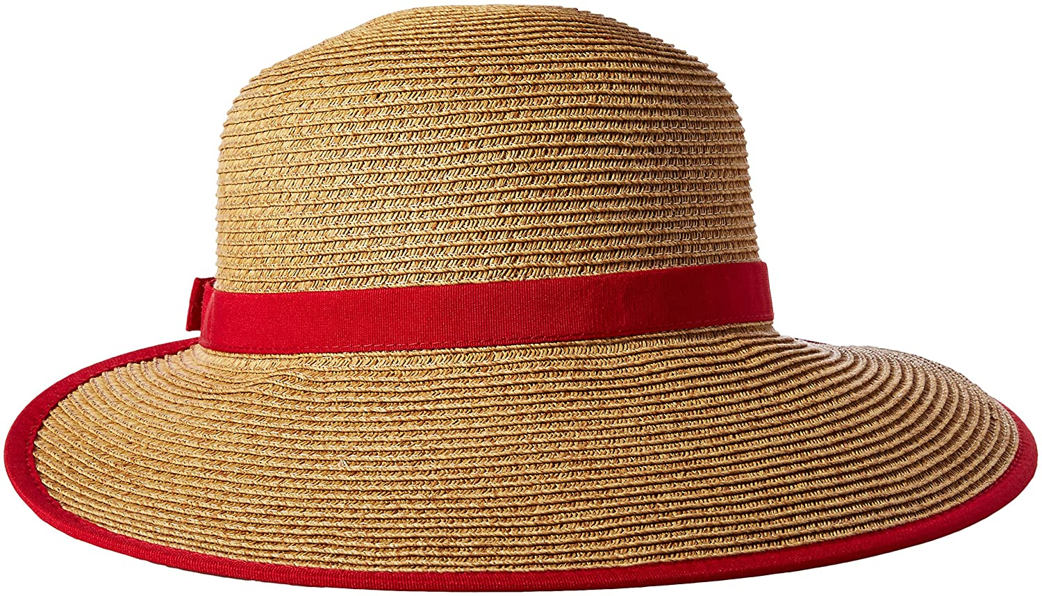 46617cba11c0 Nine West Women's Packable Brimless Floppy Hat, RED One Size at Amazon  Women's Clothing store: