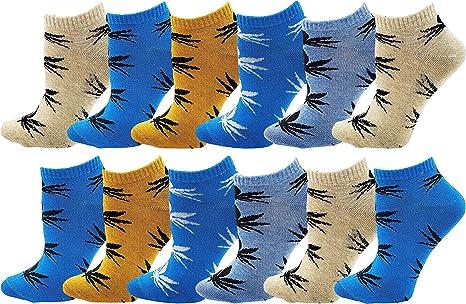 3x Marijuana Weed Maple Leaf Cotton High Socks Women/'s Adult Casual Ankles Socks
