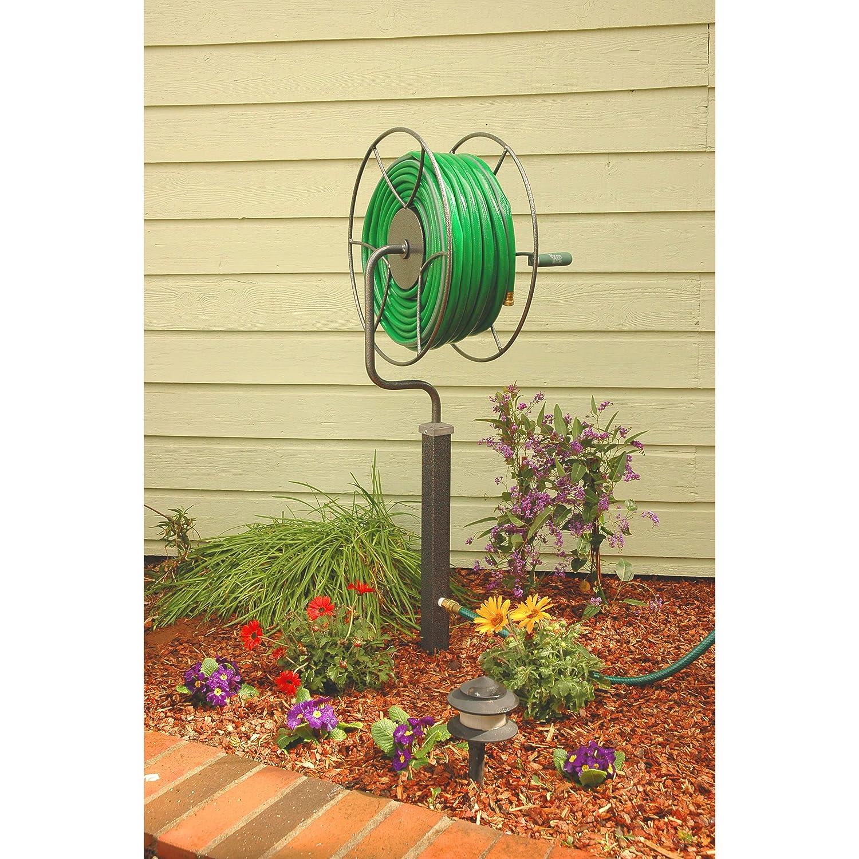 Amazon.com : Yard Butler ISR-360 Free-Standing Hose Reel : Garden ...