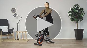 Ultrasport F-Bike 250 Bicicleta estática con Ordenador y App ...