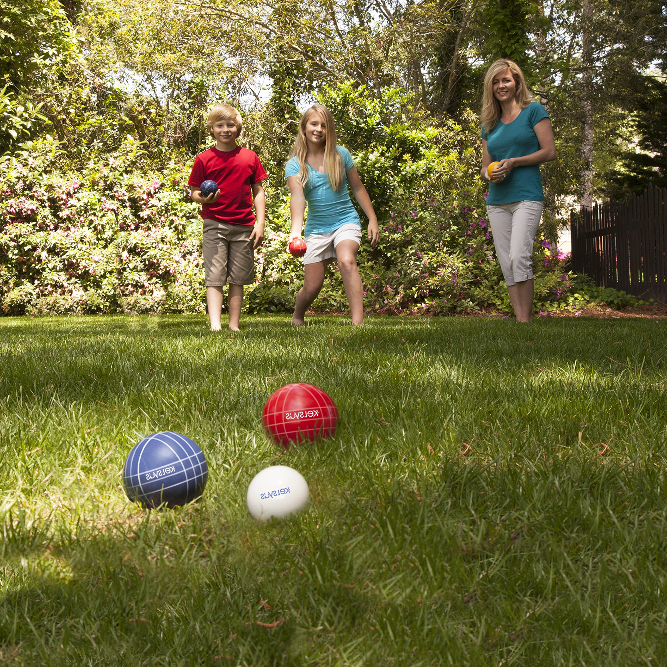 Kelsyus Premium Bocce Ball Game by Kelsyus (Image #3)