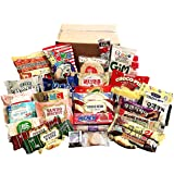 Excellent Korean Snack Box 33 Count Individual Wrapped Essentials Sample Packs of Candy, Snacks, Chips, Cookies, Treats…