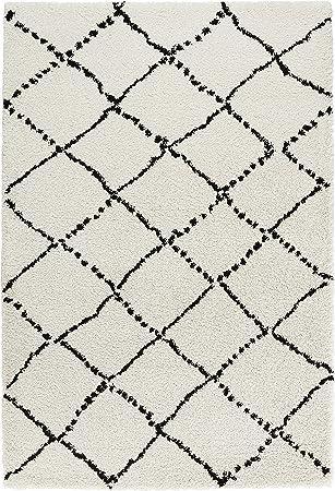 Mint Rugs 102753 Design Verlours Deep Pile Teppich Hash