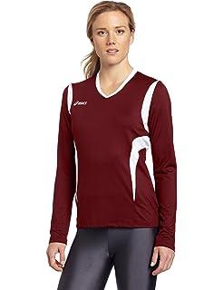 4d11d6d75be0 ASICS Mintonette Womens Long Sleeve Volleyball Top