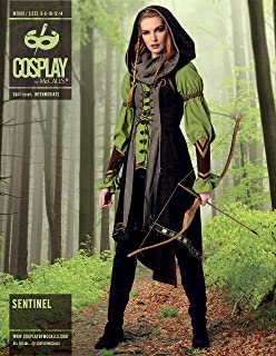 Cosplay by McCallu0027s M2080E50  Sentinel  Sewing Pattern ...  sc 1 st  Amazon.com & Amazon.com: Simplicity Creative Patterns 1550 Missesu0027 Amy Brown ...