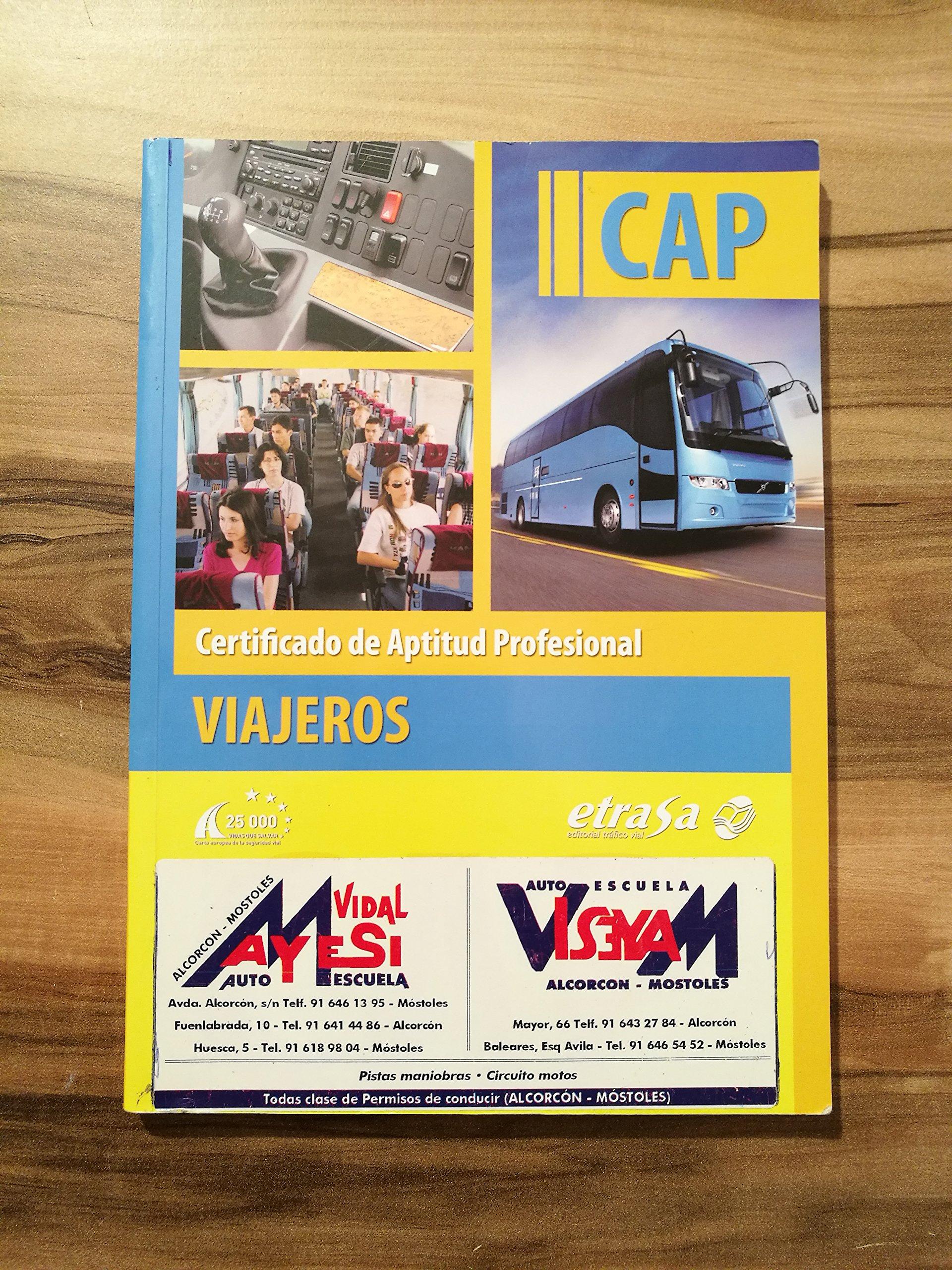Manual CAP. Certificado De Aptitud Profesional. Viajeros: Amazon.es: Libros