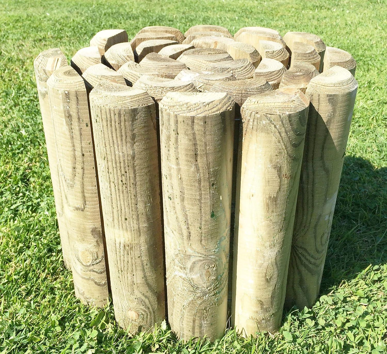 200mm x 2.4m Log Roll Border Edging