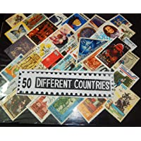 GOLD MINT 50 Different World Countries CTO Rare Stamps Set