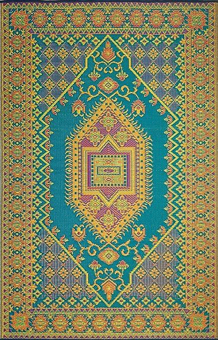 fc408aee11d7 Amazon.com : Mad Mats Oriental Turkish Indoor/Outdoor Floor Mat, 6 ...