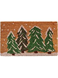 Home U0026 More 122252436 Winter Wonderland Doormat.