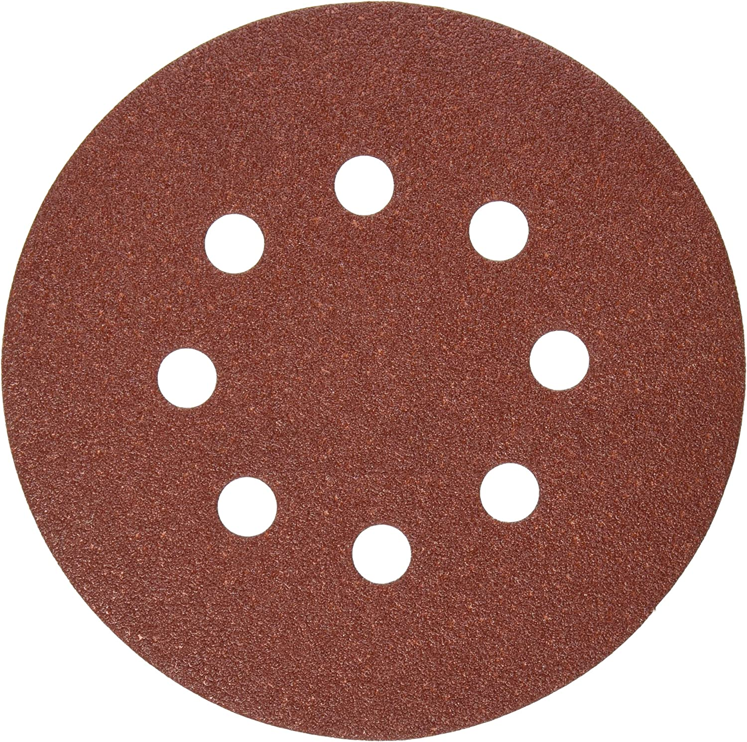 8 Hole Hook and Loop Backing 100 pack Sanding Discs 5 Inch 100 GRIT