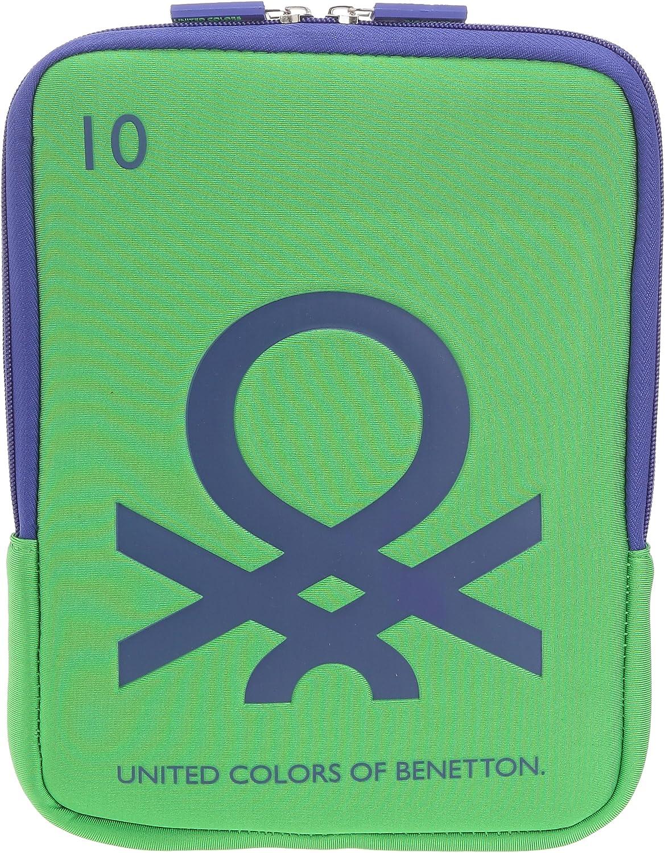 Benetton 72862, Bolso para Hombre, Green Combo 1, Taille