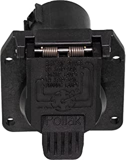 apdty 035419 trailer wiring harness plug connector fits 1997-2010 ford  truck (7-