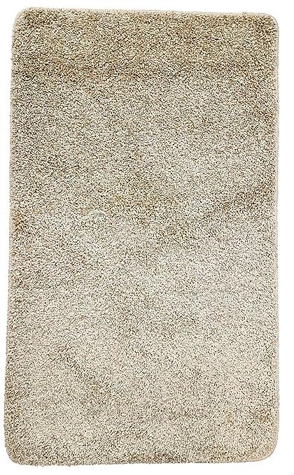 Resibano Tappeto da bagno 60 x 100 cm, 15 mm Flor, antiscivolo ...
