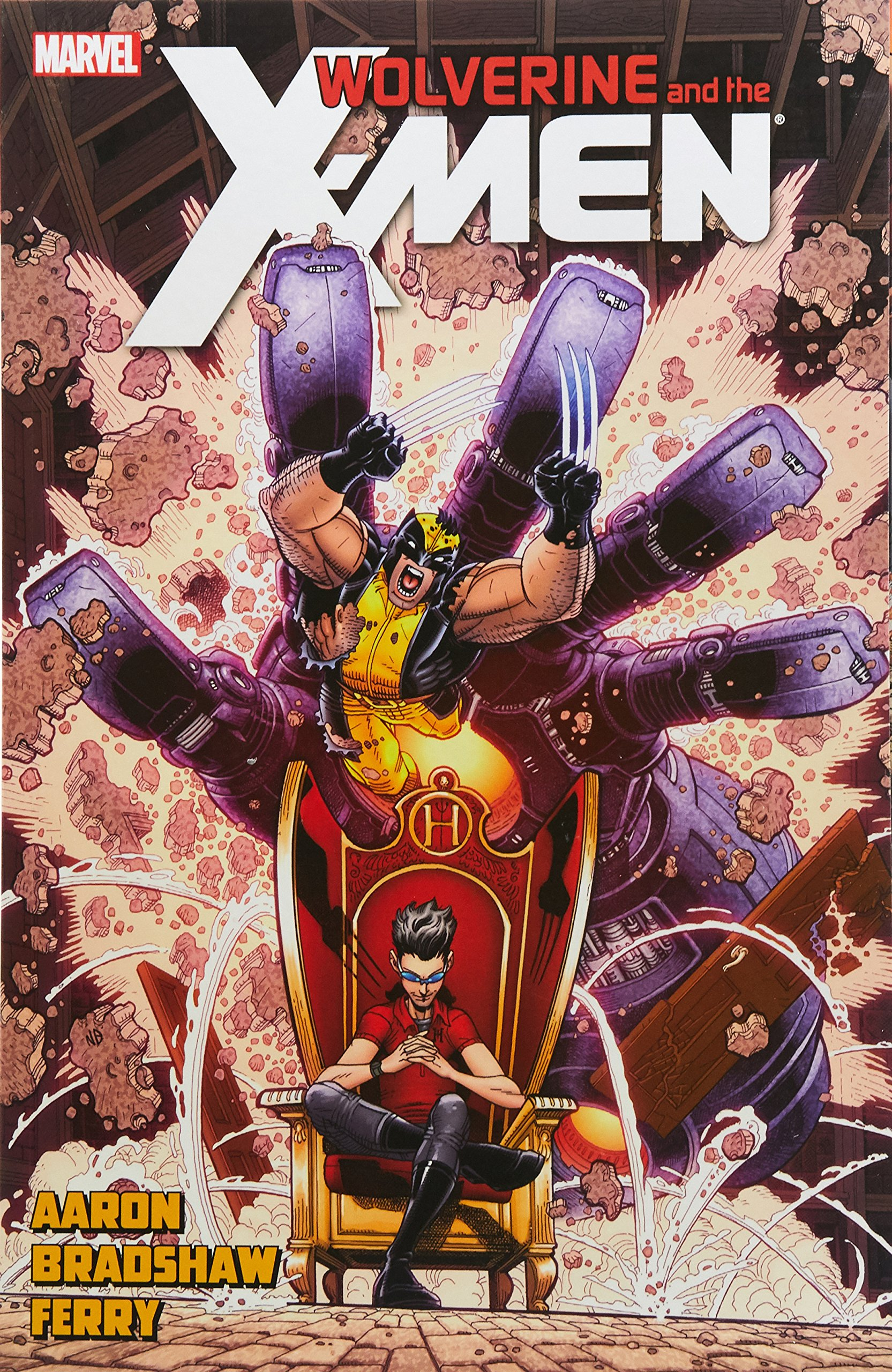 Wolverine & the X-Men by Jason Aaron Volume 7 ebook