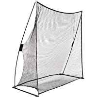 AmazonBasics Portable Driving Practice Golf Net, 7-Foot x 7-Foot