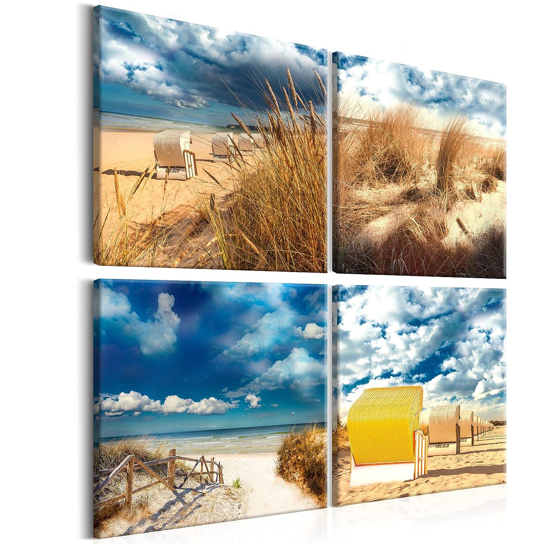 Visario Leinwandbilder 6610 Bild Auf Leinwand Abstrakt Collage