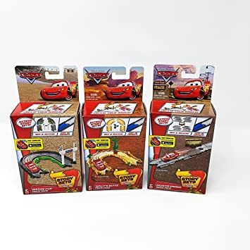 DISNEY CARS-Willy Butte Track Pack-Story ensembles voiture non incluse