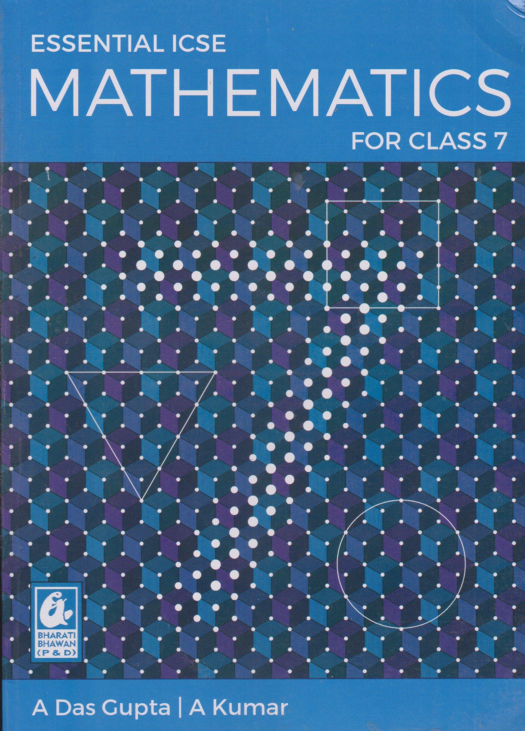 Amazon in: Buy Essential ICSE Mathematics for Class 7 (2018