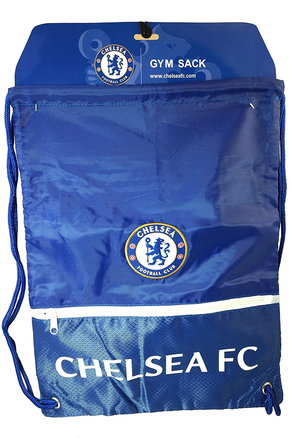 FC Chelsea Authentic Official Licensed Soccer Drawstring Cinch Sackバッグ01 B0109LV620