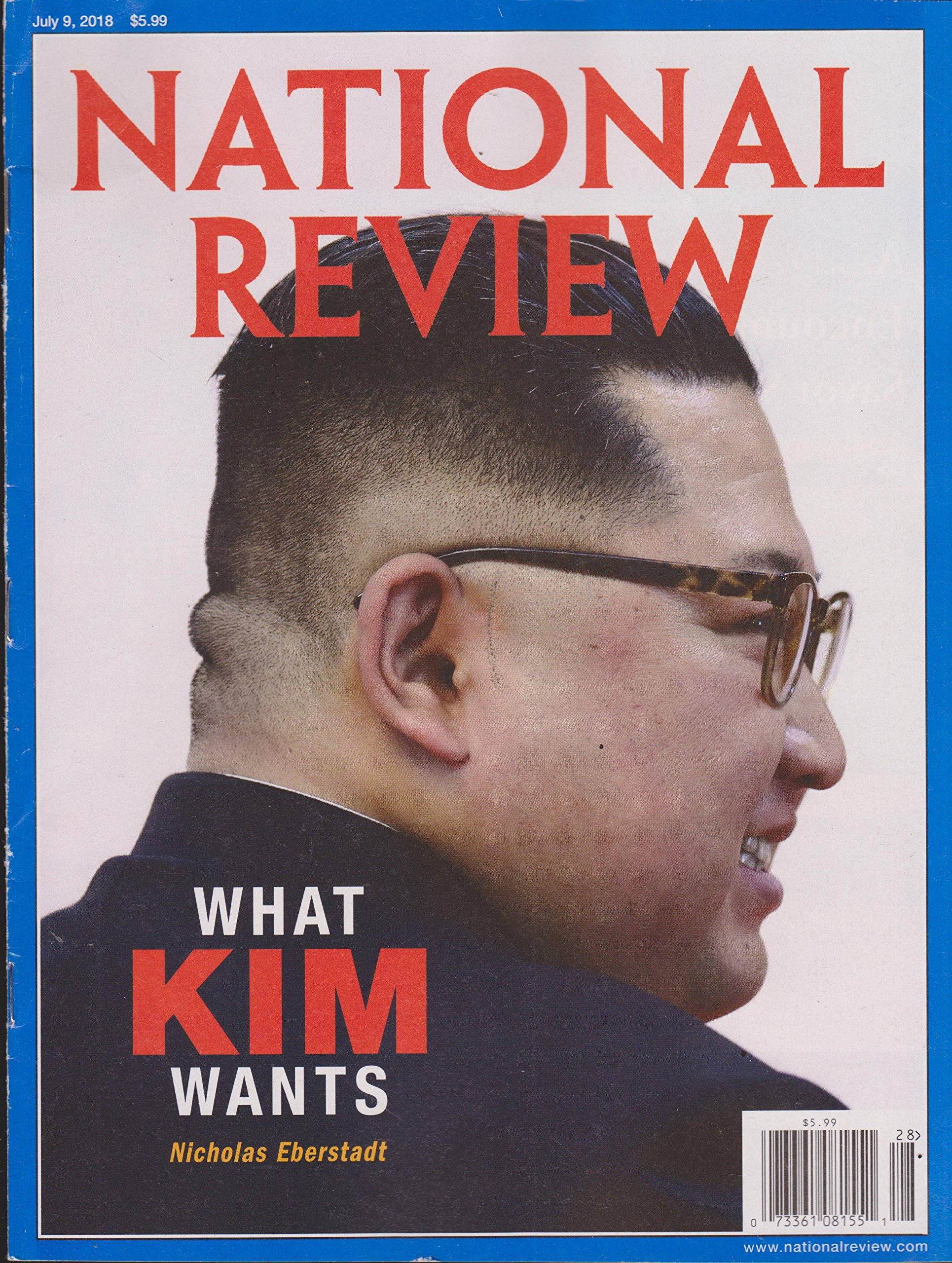 Read Online National Review Magazine July 9 2018 ebook