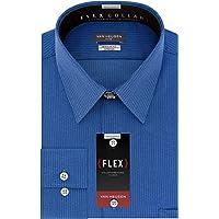 Van Heusen Men's Dress Shirts Flex Collar Regular Fit Stripe