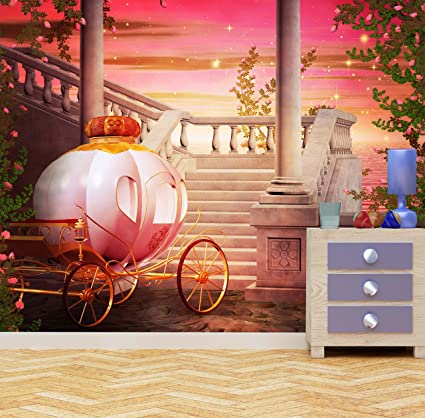 WALL ART DESIRE Papier Peint Photo Motif carrosse de ...