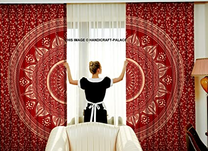 ebay tapestry drapes panels girls curtain bedroom com curtains