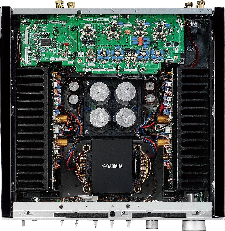 Amazon.com: Amplificador de sonido Yamaha A-SX01BL A-S801 ...