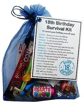 SMILE GIFTS UK 18th Birthday Survival Kit Gift