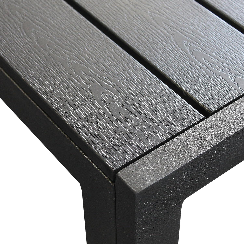 Ehrfürchtig Gartenstuhl Metall Pulverbeschichtet Schema