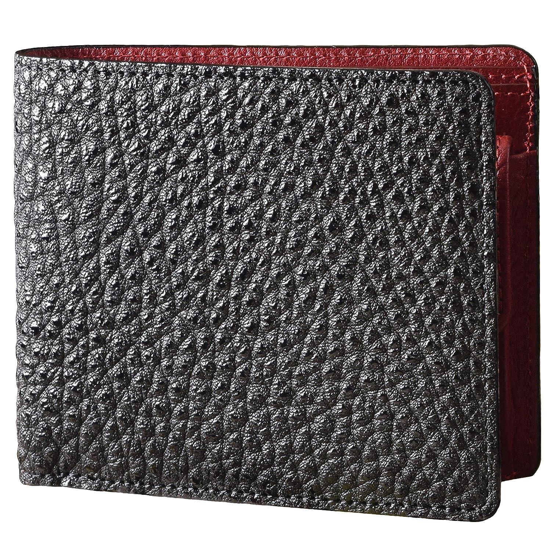 5c3cdbd027e5 Amazon | (ウエストロード)WESTROAD 財布 メンズ 二つ折り 黒桟革 日本製 UT-1201 (黒) | 財布