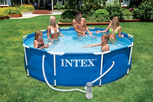 Intex Metal Frame - Piscina Desmontable, 366 x 76 cm, 6,503 l