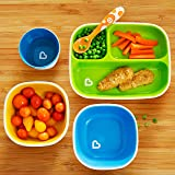 Munchkin Splash 4 Piece Toddler Divided Plate and
