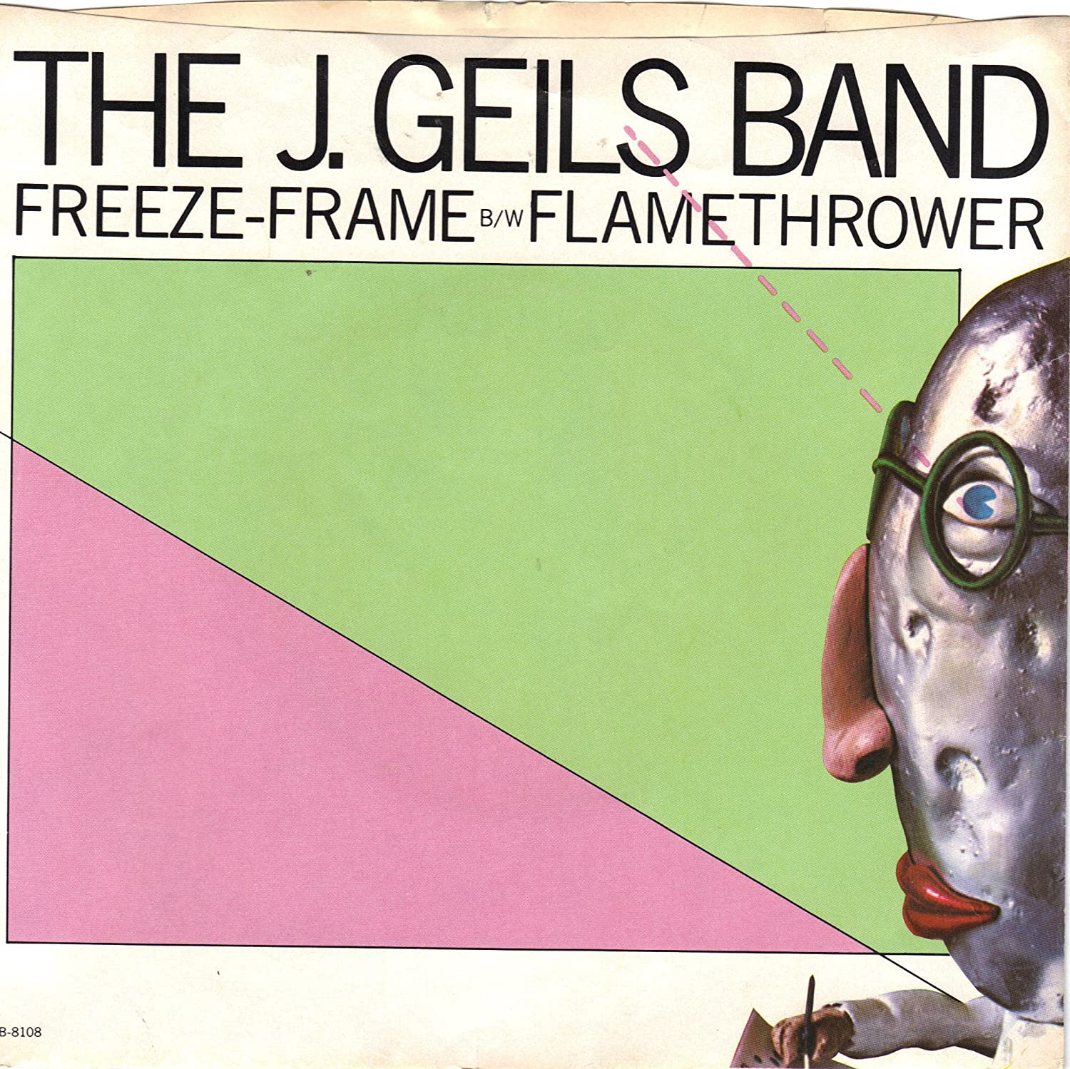 J. Geils Band - GEILS, J., Band/Freeze-Frame/45rpm record + picture ...