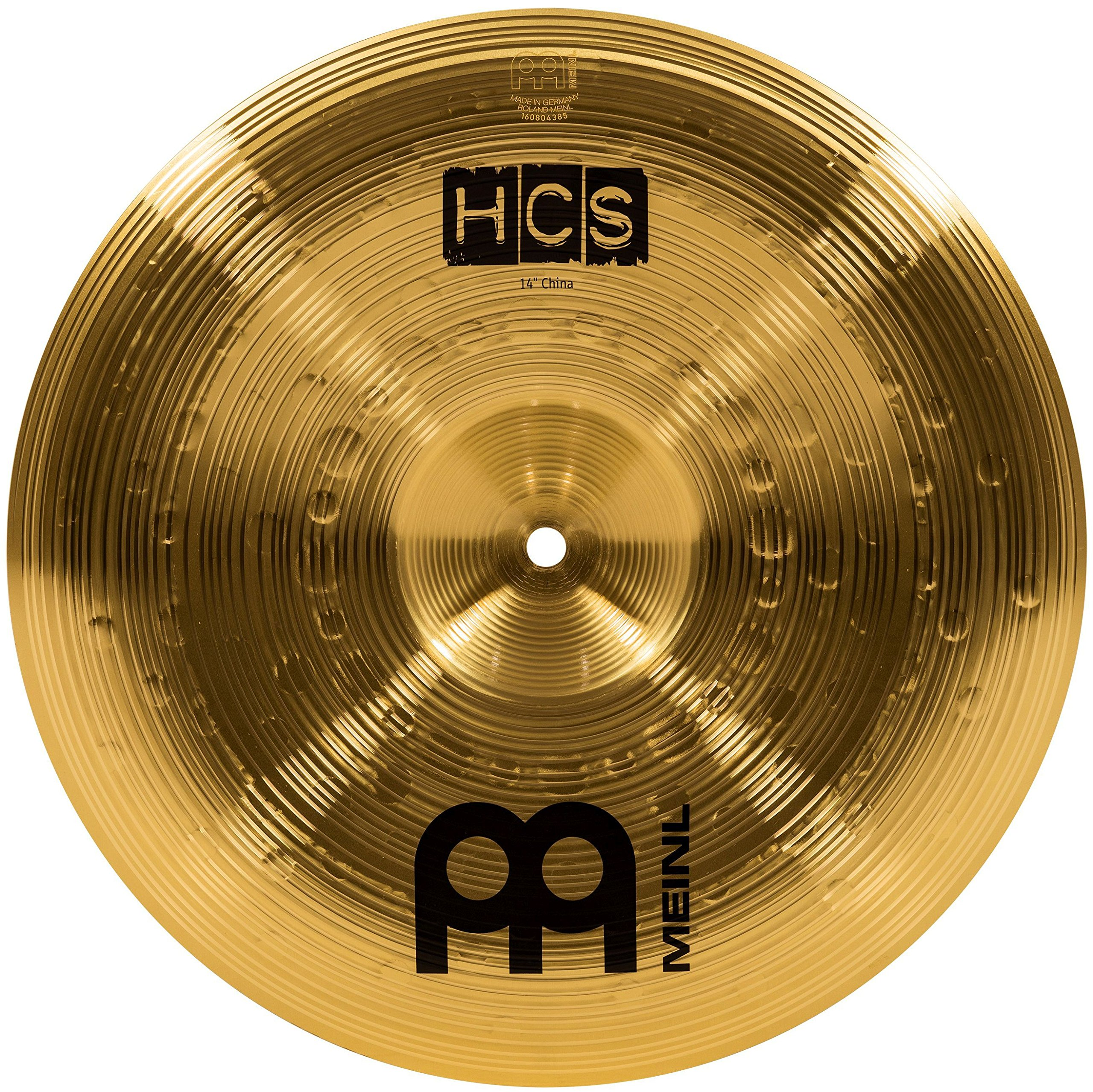 Meinl 14'' China Cymbal - HCS Traditional Finish Brass for Drum Set, Made In Germany, 2-YEAR WARRANTY (HCS14CH) by Meinl Cymbals