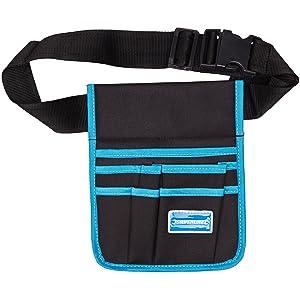 Silverline 245046 Tool Pouch Belt 5 Pocket - 220 x 260 mm