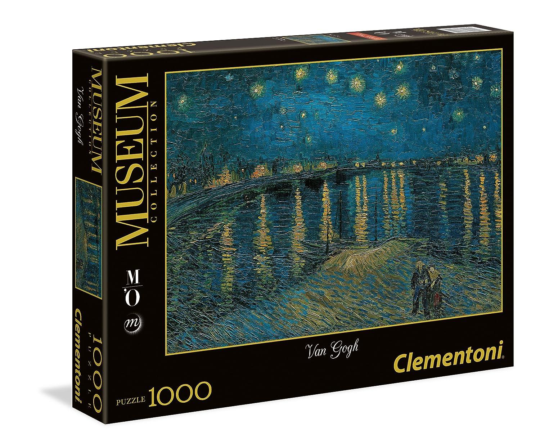 Clementoni - Puzzle de 1000 Piezas, diseño Noche Estrellada, Rodano (39344.2) Clementoni Spain 393442