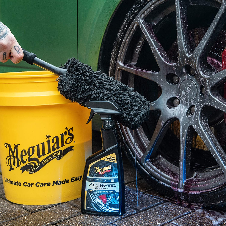 Meguiar S X1901eu Supreme Wheel Brush Felgenbürste Large Auto