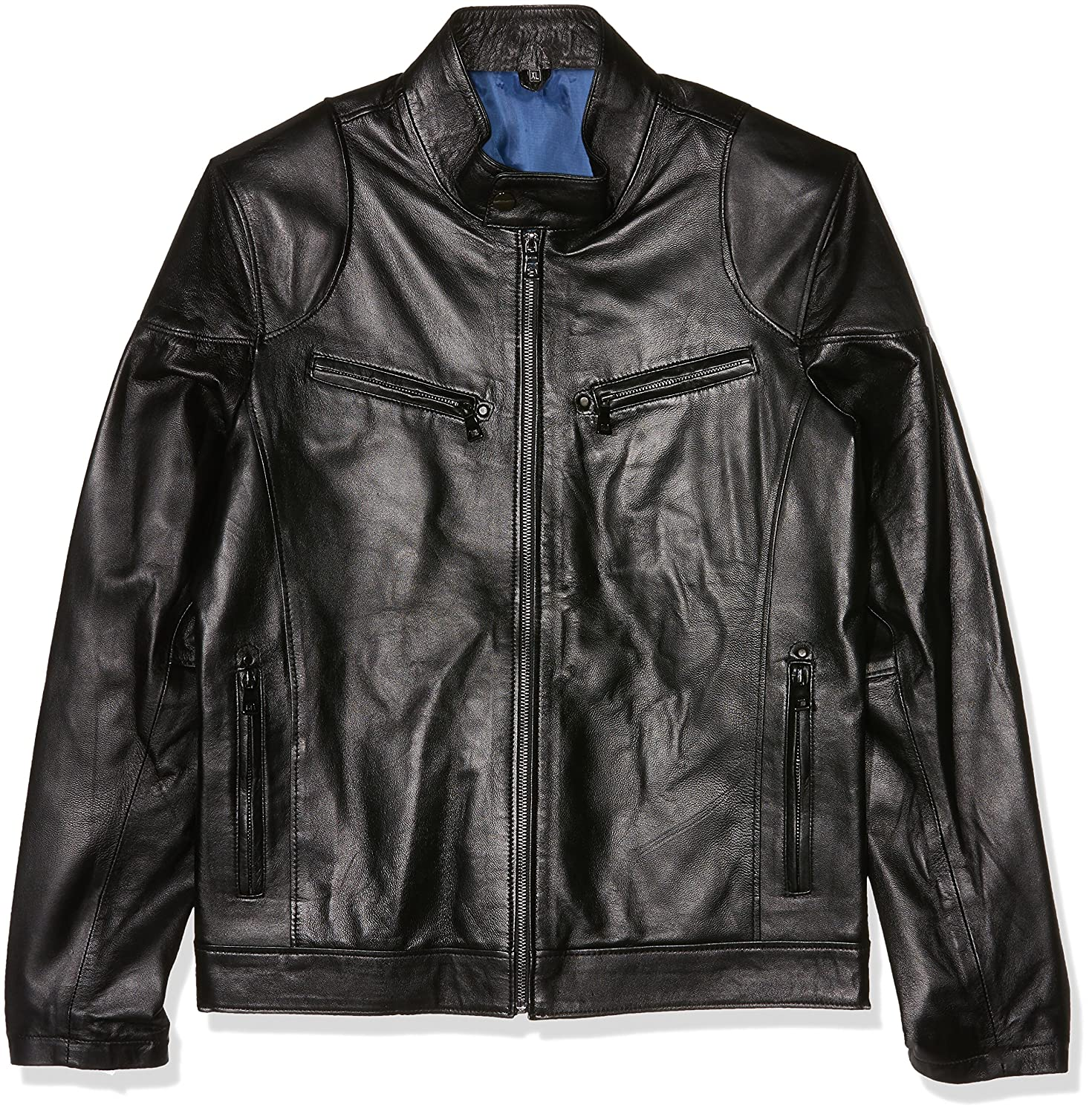 TALLA XL. Giorgio Di Mare Cazadora Piel Men's Leather Jacket