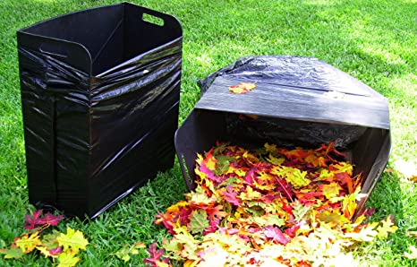 Marvelous Bag Butler Set Of 2 Lawn And Leaf Trash Bag Holders